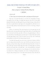 SKKK một số biện pháp dạy tốt môn tin học lớp 3