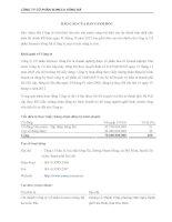công ty cp someco sông đà báo cáo ban tổng giám đốc báo cáo kiểm toán tài chính hợp nhất bảng cân đối kế toán báo cáo kết quả hoạt động kinh doanh năm 2012