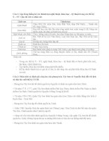 Tài liệu ôn tập kiểm tra 1 tiết lịch sử 10