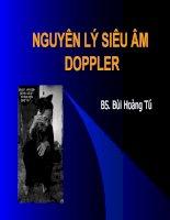 nguyên lý siêu âm doppler
