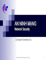 An ninh mạng network security