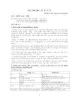 Bài giảng nhiễm trùng huyết - Bs chuyên khoa 2 Nguyễn Hồng Hà