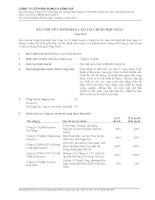 công ty cổ phần someco sông đà bản thuyết minh báo cáo tài chính hợp nhất 31 tháng 12 năm 2012