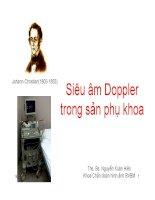 siêu âm doppler trong sản phụ khoa
