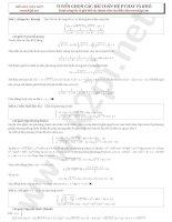 Tuyển chọn các bài toán hệ phương trình hay và khó k2pi.net
