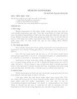 Đại cương về bệnh leptospira -BS chuyên khoa 1 NGuyễn Hồng Hà