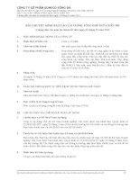 công ty cổ phần someco sông đà bản thuyết minh báo cáo tài chính tổng hợp giữa niên độ 6 tháng đầu năm tài chính kết thúc năm 2012
