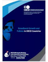 broadband growth and policies in oecd countries - bb growth in oecd