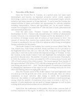 tóm tắt luận án tiến  sĩ tiếng anh phát triển nguồn nhân lực ngành du lịch khu vực duyên hải nam trung bộ và tây nguyên