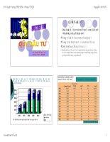 Bài giảng Quỹ đầu tư  Nguyễn Anh Vũ