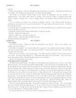 Bài luận kỹ năng đọc viêt tiếng anh về các thành viên gia đình