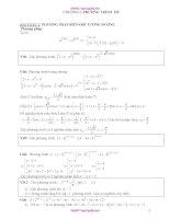 Các dạng bài tập Phương trình mũ (hay)