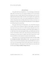 Báo cáo thực tập tại công ty cổ phần xi măng Tiên Sơn