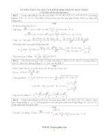 Tài liệu ôn thi Đại học:Tuyển tập các bài hình học phẳng hay nhất