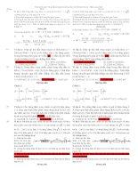 Bí quyết ôn luyện thi đại học theo chủ đề môn vật lý  điện xoay chiều