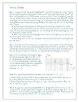 Tài liệu bồi dưỡng học sinh giỏi vật lí lớp 10