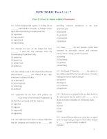 Đề thi Toeic 2013 bản scan pdf full Listening + reading + đáp án (new  2013)