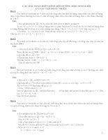 Các bài toán điển hình bồi dưỡng học sinh giỏi lớp 5