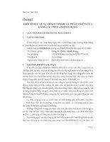 Bài thực tập chuyên ngành Kế Toán tại công ty TNHH Mạnh Hùng