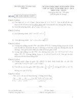 Tuyển tập các đề thi học sinh giỏi toán lớp 10 (có đáp án chi tiết)