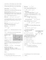 Chuyên đề vật lý lớp 10 nâng cao full