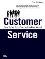 customer service new rules for a social media world