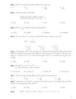 100 Bài toán trắc nghiệm bồi dưỡng học sinh giỏi lớp 5