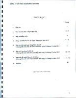 công ty cổ phần transimex saigon báo cáo ban tổng giám đốc bảng cân đối kế toán báo cáo kết quả hoạt động kinh doanh lưu chuyển tiền tệ báo cáo tài chính 6 tháng đầu năm 2013