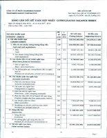 công ty cổ phần transimex saigon bảng cân đối kế toán hợp nhất báo cáo kết quả hoạt động kinh doanh lưu chuyển tiền tệ báo cáo tài chính hợp nhất quý 2 năm 2013