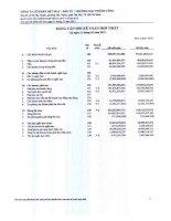 công ty cổ phần cổ phần dệt may đầu tư thương mại thành công bảng cân đối kế toán báo cáo kết quả hoạt động kinh doanh báo cáo tài chính hợp nhất quý 1 năm 2013