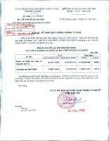 công ty cổ phần kho vận giao nhận ngoại thương tphcm bảng cân đối kế toán báo cáo lưu chuyển tiền tệ kết quả hoạt động kinh doanh báo cáo tài chính quý 2 niên độ từ 1 tháng 4 đến 31 tháng 12 năm 2012