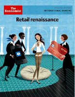 The economist special report international banking