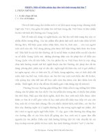 SKKN một số biện pháp dạy thơ trữ tình trung đại lớp 7