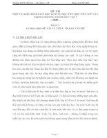 SKKN một vài biện pháp giúp học sinh học tự học tốt một tiết ngữ văn trong chương trình ngữ văn 7
