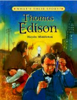 Thomas Edison The Wizard Inventor