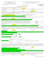 Ôn tập môn vật lý luyện thi THPT quốc gia