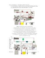 Sơ đồ cấu tạo và nguyên lý làm việc của một số hệ thống phun xăng