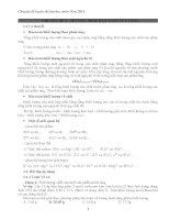 Chuyên đề luyện thi đại học môn hóa năm 2015