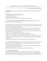 PHÁC ĐỒ CẤP CỨU NGỪNG  HÔ HẤP TUẦN HOÀN