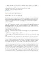 ĐỊNH NGHĨA TOÀN cầu lần THỨ III về NHỒI máu cơ TIM