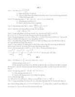 Bài tập toán lớp 9 hay nhất