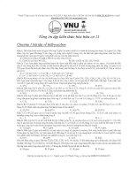 [vtt] tổng ôn hóa học hữu cơ 11 khó
