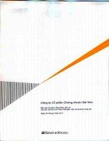 công ty cổ phần chứng khoán sài gòn báo cáo ban tổng giám đốc báo cáo tài chính hợp nhất giữa niên độ đã được soát xét 30 tháng 6 năm 2012