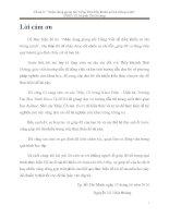 NHẬN DẠNG GIỌNG nói TIẾNG VIỆT để điều KHIỂN XE lăn THÔNG MINH