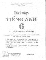 Bài Tập Tiếng Anh 6 Mai Lan Hương, Nguyễn Thanh Loan