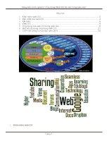 sáng kiến kinh nghiệm ứng dụng web thế hệ mới trong giáo dục