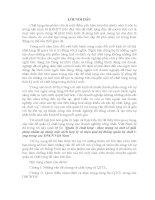 báo cáo tốt nghiệp ngành kinh tế : Quản lý chất lợng - thực trạng và một số giảipháp nhằm áp dụng một cách hợp lý và hiệu quả hệ thống quản trị chất l-ợng trong các DNCN Việt Nam