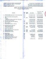 công ty cổ phần chứng khoán sài gòn bảng cân đối kế toán hợp nhất báo cáo lưu chuyển tiền tệ kết quả hoạt động kinh doanh báo cáo tài chính hợp nhất 31 tháng 3 năm 2013