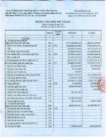 công ty cổ phần chứng khoán ngân hàng đầu tư và phát triển việt nam bảng cân đối kế toán báo cáo lưu chuyển tiền tệ báo cáo kết quả hoạt động kinh doanh báo cáo tài chính 30 tháng 9 năm 2013