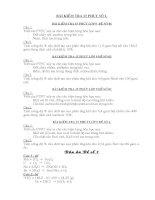 bộ đề kiểm tra hóa học lớp 9